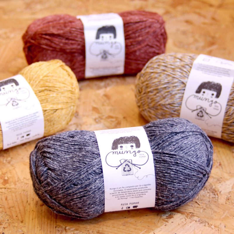 Retrosaria, Mungo, Recycled, Wool, Cotton, Worsted