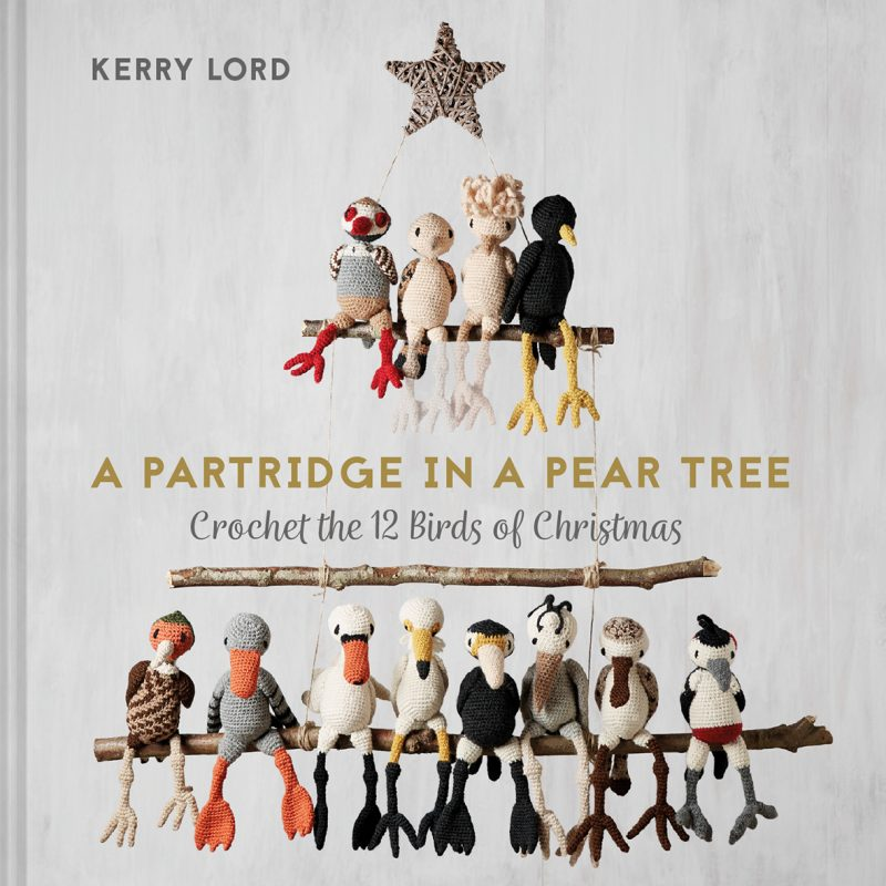 Kerry Lord, A Partridge in a Pear Tre, Crochet, Christmas