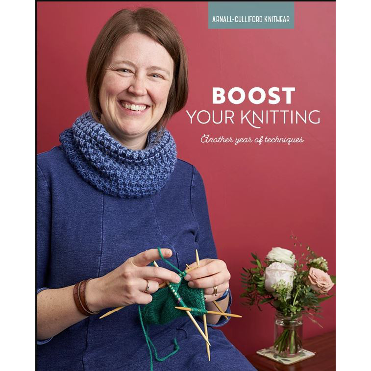 Boost Your Knitting, Arnall-Culliford, Knitwear, Techniques