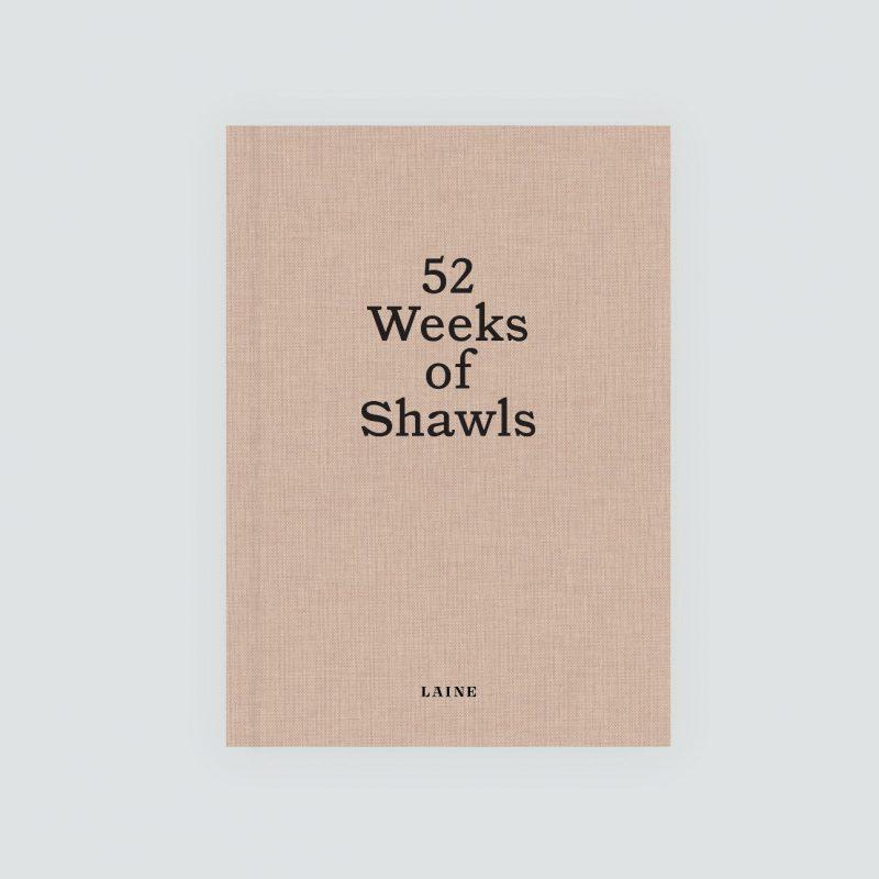 52 Weeks of Shawls, Laine Publishing, Laine Magazine, Knitting Books