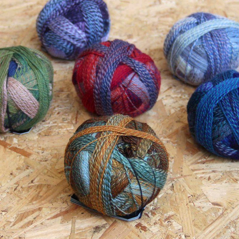 Schopple Wolle, Crazy Zauberball, Self Striping, Sock Yarn