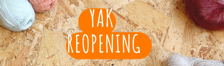 Reopening, YAK, Yarn Store, Brighton