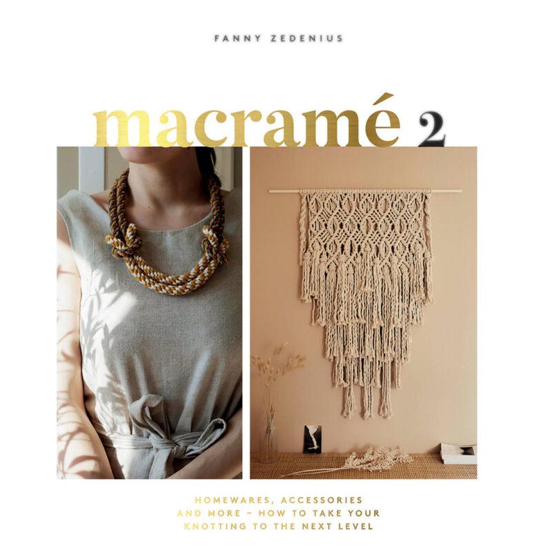 Macramé 2, Fanny Zedenius, Pattern Book