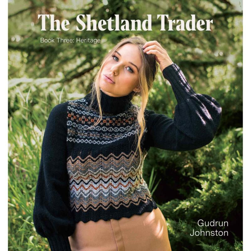 The Shetland Trader, Gudrun Johnston, Pom Pom Press,